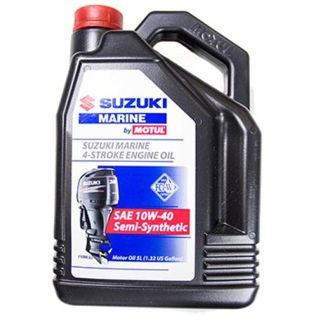 Óleo Suzuki Marine 4 Tempos, SAE 10W40, 5L