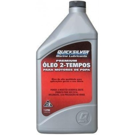 Óleo de Motor Quicksilver 2 Tempos, TC-W3