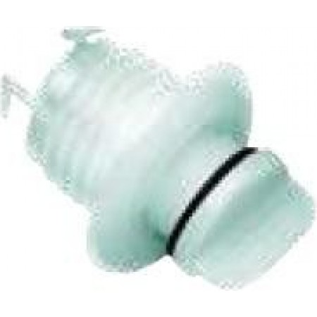 Bueira redonda em poliamida Diâm. Externo: 40 mm Diâm. Recorte: 27 mm