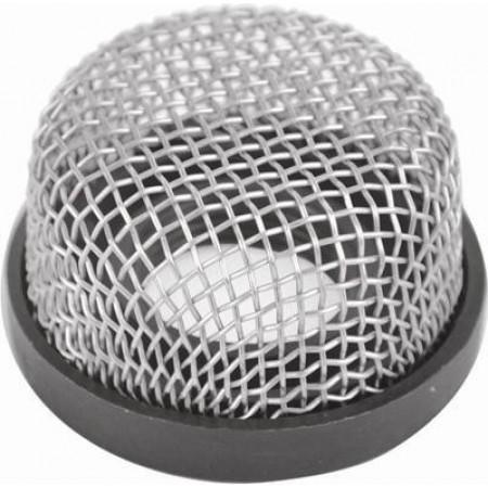 Filtro de aço inox para adaptar bombas de viveiro