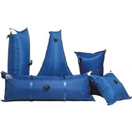 Plastimo Depósitos flexíveis para água 150 Lt Câmara de Recâmbio