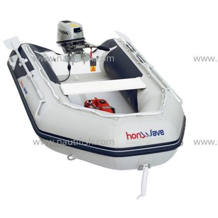 Embarcação Honda T24IE + Motor Honda BF2.3 HP