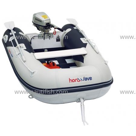 Embarcação Honda T25SE2 + Motor Honda BF2.3 HP