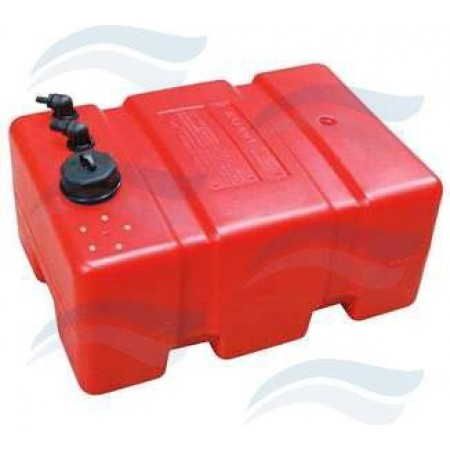 Depósito Combustível Fixo 45L 500x350x300 mm