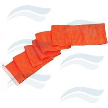 Bandeira de ski laranja