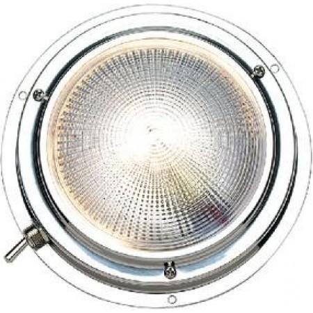 Luz Cabine Diurna/Nocturna (Branca/Vermelha) de Diam 102mm - Seachoice