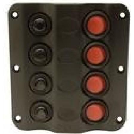 Painel 4 interruptores