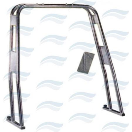 Arco de luzes ou radar em Inox, Roll Bar