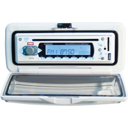 Auto-Rádio marítimo com leitor de DVD/CD e MP3 GD9620