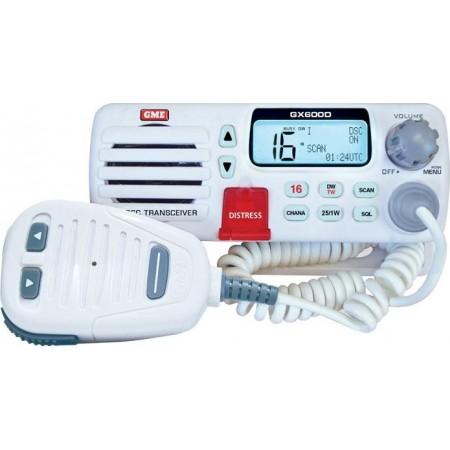 Radiotelefone de VHF fixo, banda marítima, com DSC GX600D