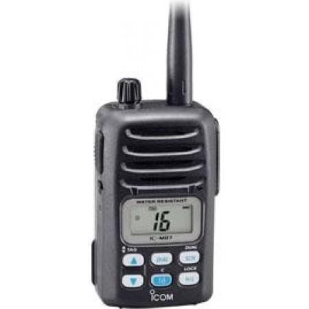 RADIOTELEFONE PORTÁTIL MARÍTIMO VHF IC-M87