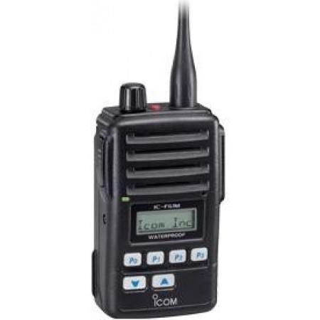 RADIOTELEFONE PORTÁTIL DE BORDO, UHF IC-F61M