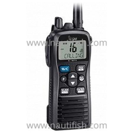 RADIOTELELEFONE PORTÁTIL MARÍTIMO VHF IC-M73 EURO