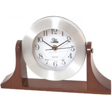 Relógio com base de Madeira SeaNav