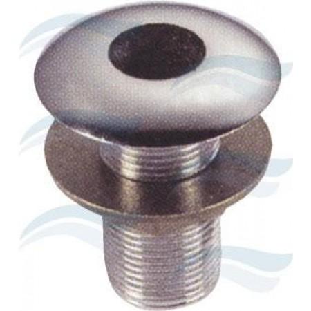 Base para forqueta em latão cromado