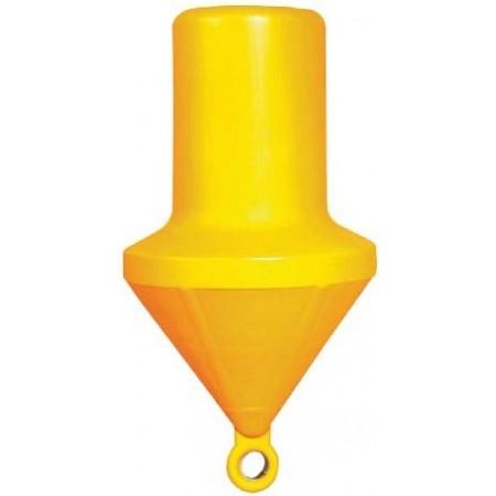 Bóia de Marcação Cilíndrica Amarela 161 Cm Cheia