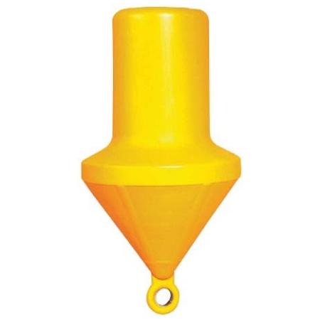 Bóia de Marcação Cilíndrica Amarela 161 Cm Oca