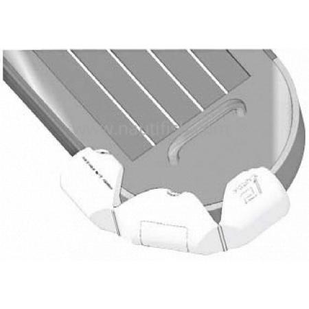 Bumper® Articulada Mod. C Standard Branca 18 Ø X 80 Cm