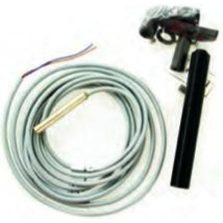 Conjunto contador de corrente com sensor magnético