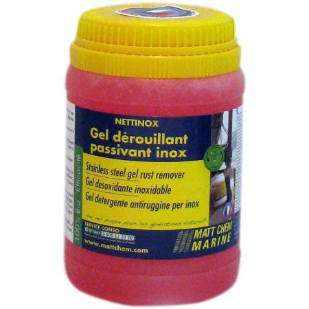 NETTINOX Gel limpeza+desenferrujante p/ inox 300g