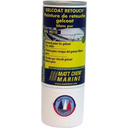 GELCOAT RAL 9010 Spray retoque Branco puro 150ml