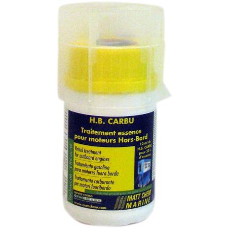HB CARBU Trat.combustível-Motores Fora bordo 100ml
