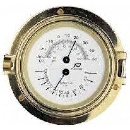 Termómetro/higrómetro 4.5 polegadas PLastimo