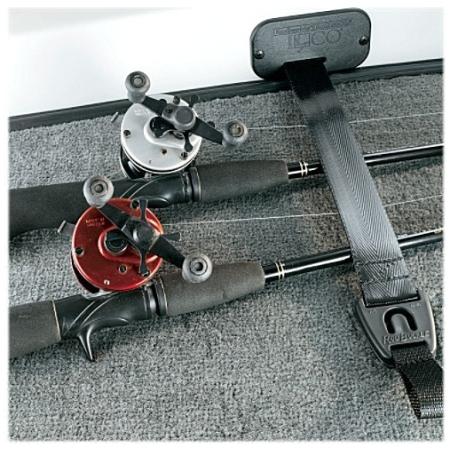 Sistema de segurar canas de pesca RodBuckle®