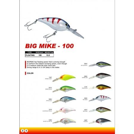 Big Mike 100 mm 12.3 g flotante