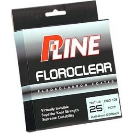 Fio revestido a Flurocarbono Fluroclear P-Line®, 600 Yards