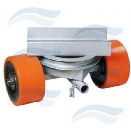 Suporte giratório com rodas