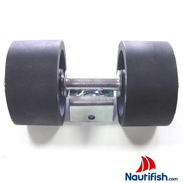 Rolete de Apoio Lateral Completo Ø 94x160mm