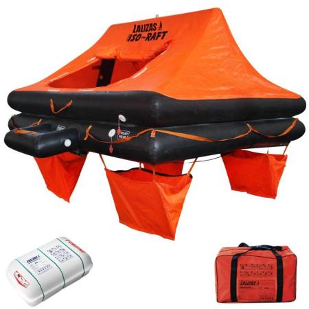 Balsa Salva-Vidas CE ISO 9650-1 4P Saco