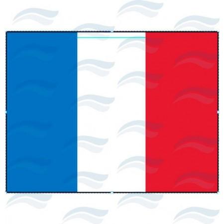 Bandeira de França 45x30