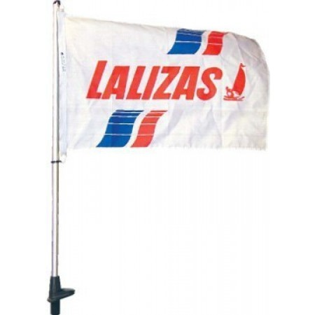 Porta bandeira de preto 50cm