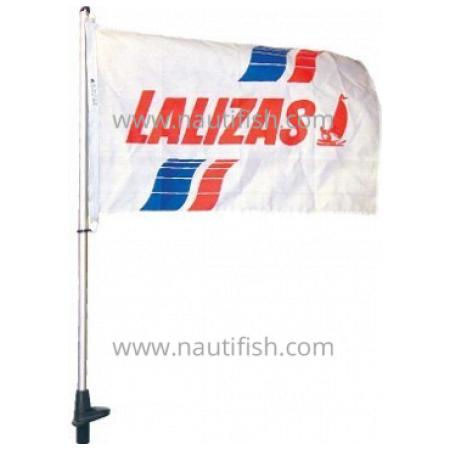 Porta bandeira de branco 50cm