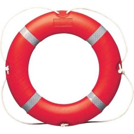Bóia salva-vidas circular com estrutura em Polietileno