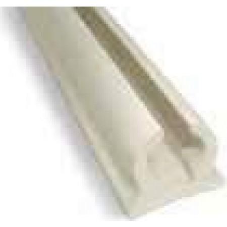 Calha em PVC para capotas 4m