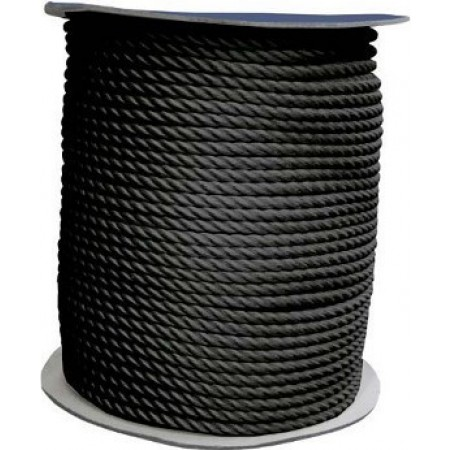 Cabo de amarração 200m preto 14mm