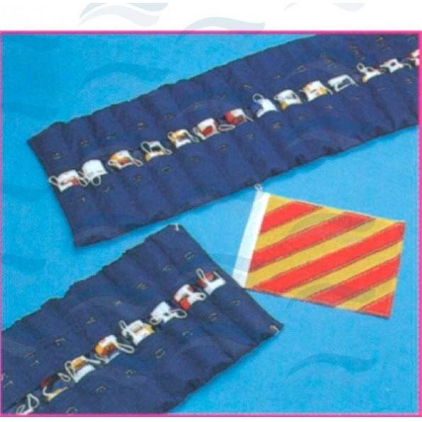 Conjunto bandeiras código internacional
