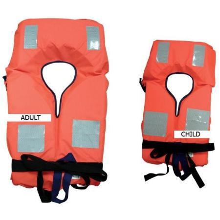 Colete de Salvação para recreio CE 150N -40kg criança