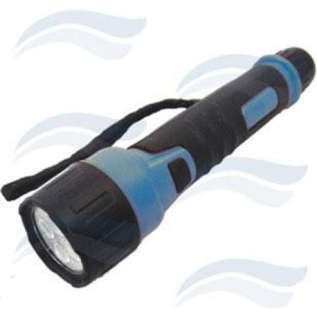 Lanterna de Borracha 4 LED TÉRMICA