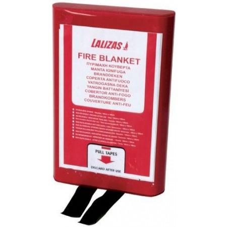 Cobertor Anti-fogo em Caixa de PVC 100x100cm