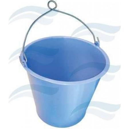 Balde Inox Azul