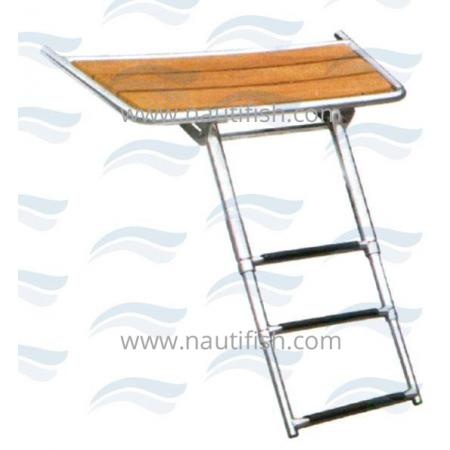 Plataforma com escada