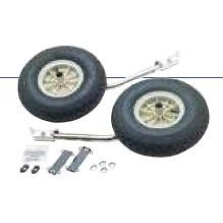 Jogo de rodas pneumático