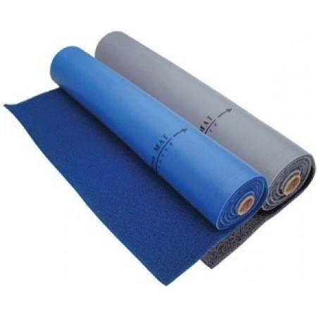 Carpete Naval c/ Forro Traseiro em PVC azul 120cm