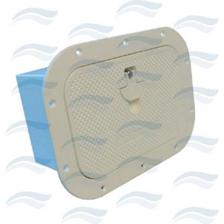 Caixa de embutir em aluminio 270x370 branca