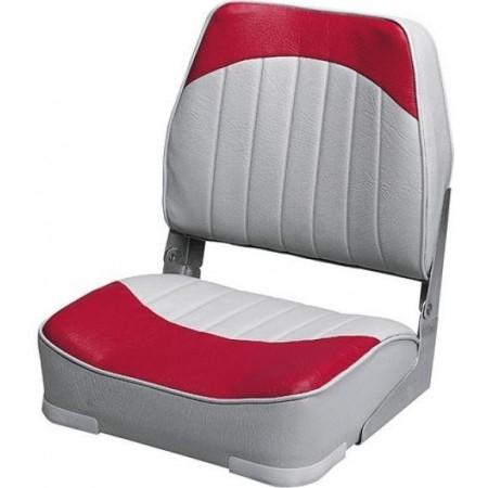 Banco Rebatível Cinza/Vermelho- Wise Seating