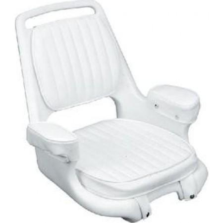 Assento almofadado Branco 2080 com placa de montagem - Moeller